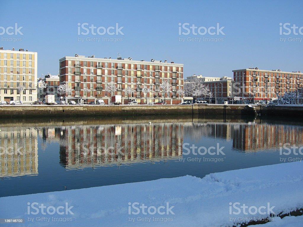 reflect havre stock photo