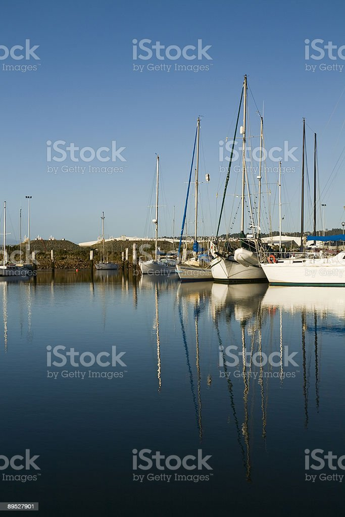 Reflected Calm royalty-free stock photo