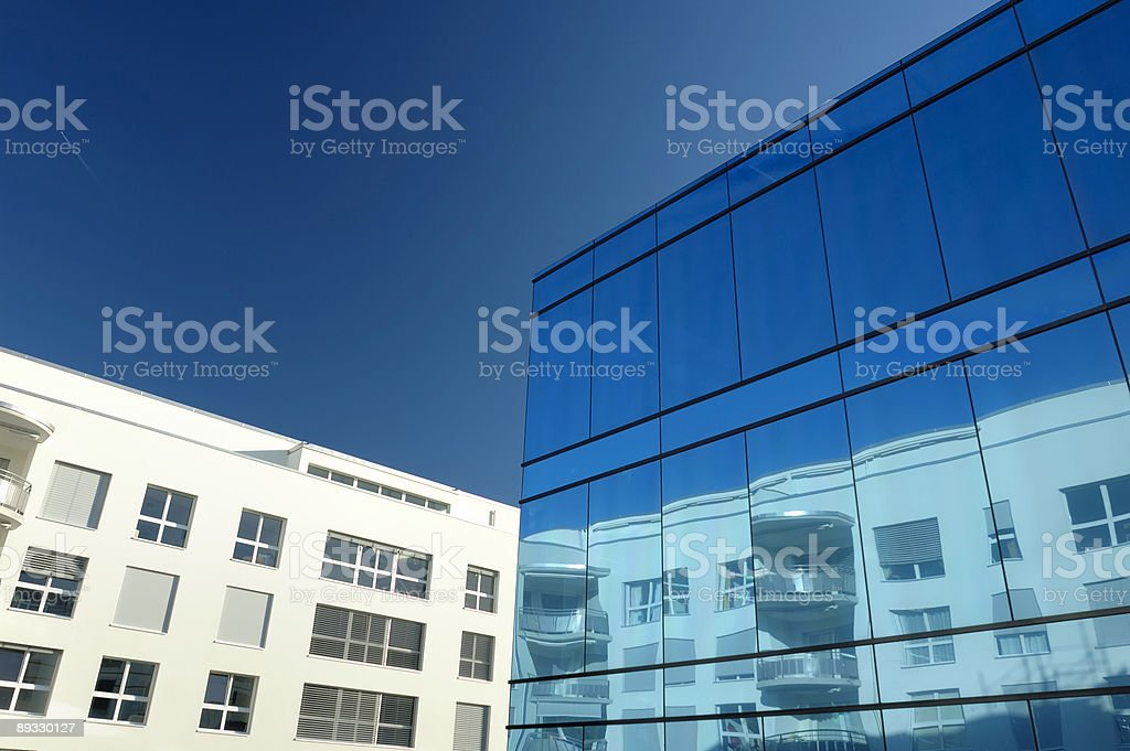 Reflection and contrast royalty-free stock photo