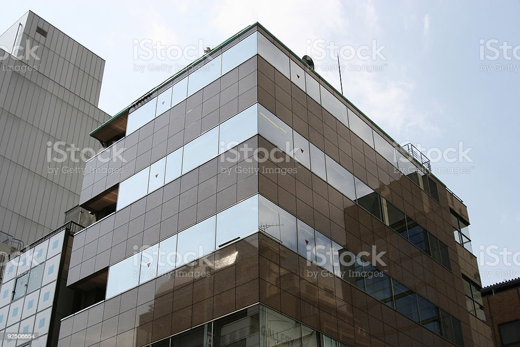Reflection Building royalty-free stock photo