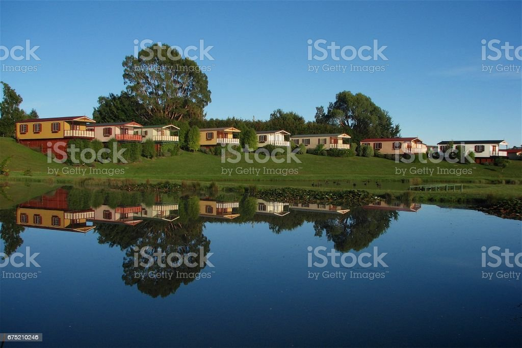 reflection colouful royalty-free stock photo