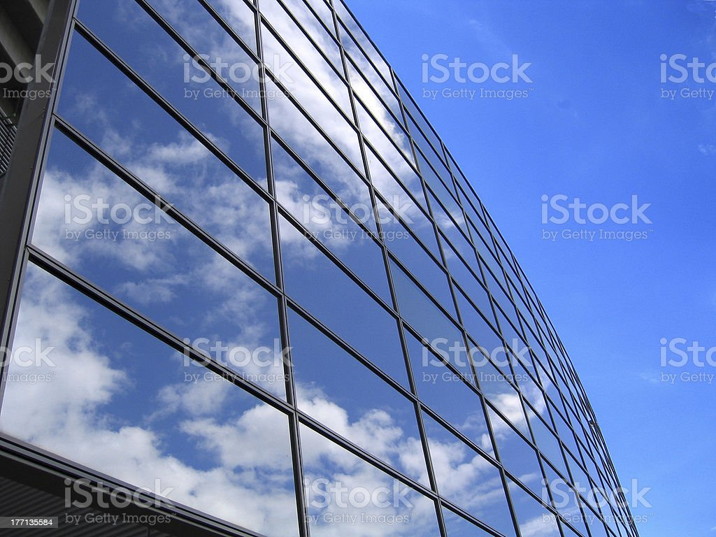 Reflection in a window royalty-free stock photo