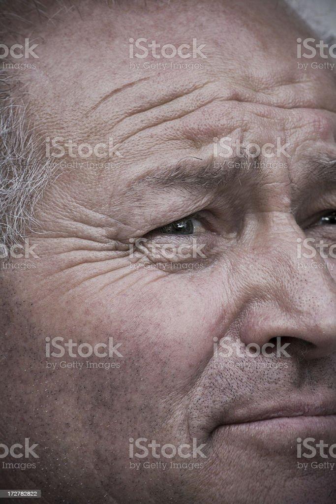 Spiegelung eines Mann – Foto