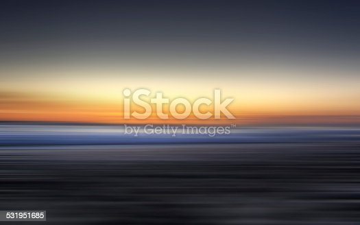 1030314738 istock photo Reflection of Colorful sunset with long exposure effect, motion blurred 531951685