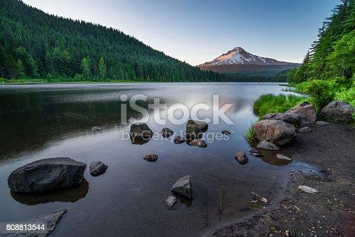 Mt Hood, Trillium Lake, Lake, Mountain, Reflection