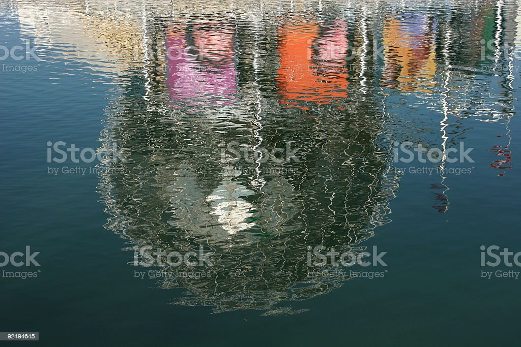 Reflection Of Science World royalty-free stock photo