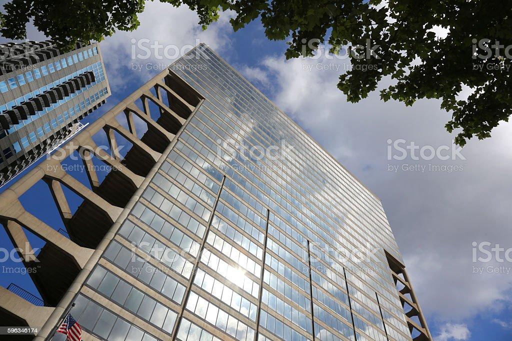Reflexion von sky Lizenzfreies stock-foto