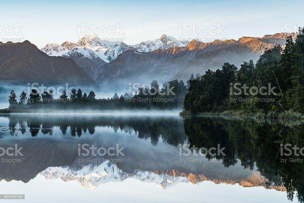 Reflection of the Lake stock photo