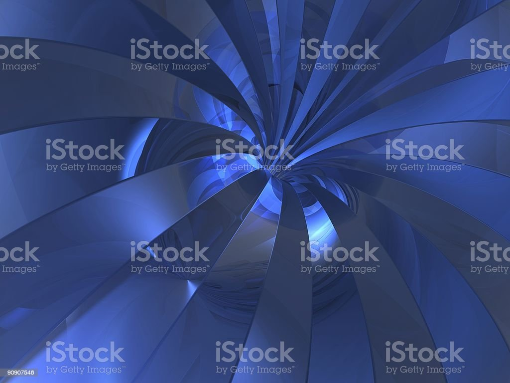 reflection swirl royalty-free stock photo