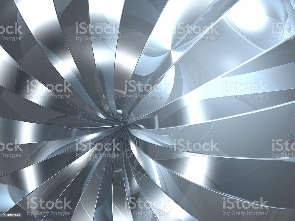 reflection swirl royalty-free stock photo