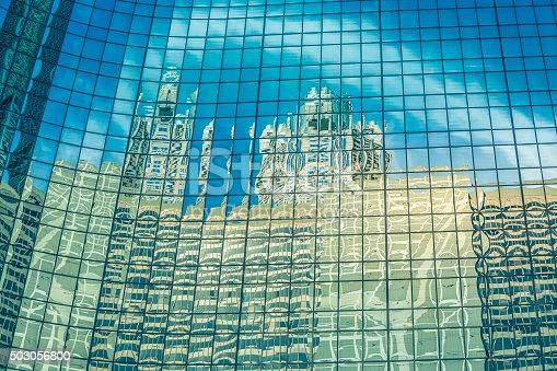istock Reflections , Chicago-Illinois 503056800