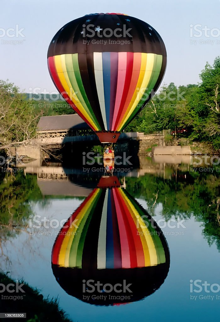 Reflections of a Balloonist royalty-free stock photo