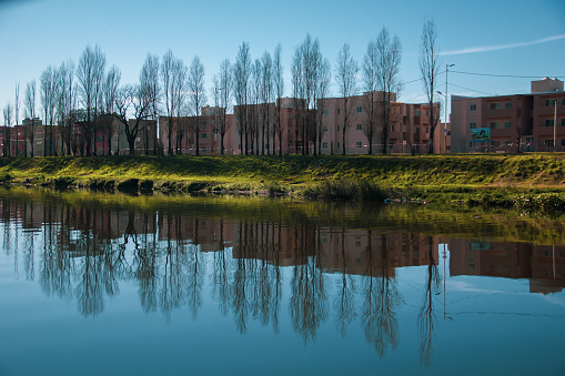 Reflections of departments in Argentina