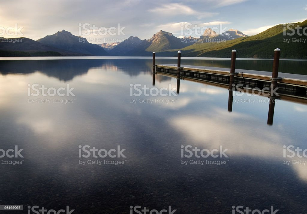 Reflections of Evening royalty-free stock photo