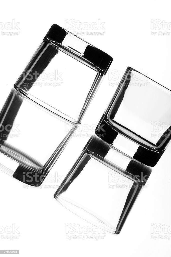 reflections of liquor royalty-free stock photo