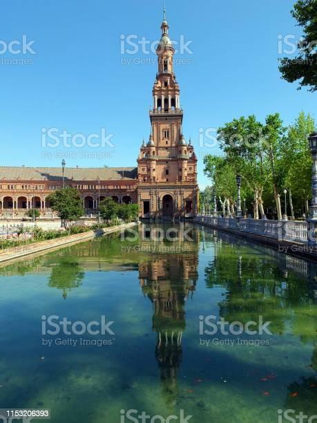 Reflections of Plaza España