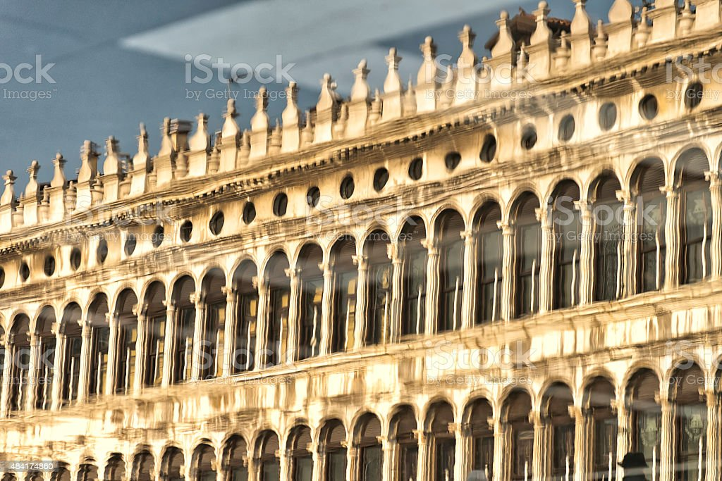Reflections of Venice royalty-free stock photo