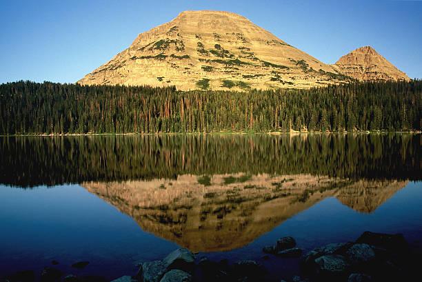 reflets - lac mirror lake photos et images de collection