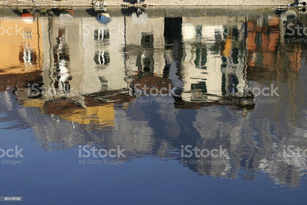 reflections royalty-free stock photo