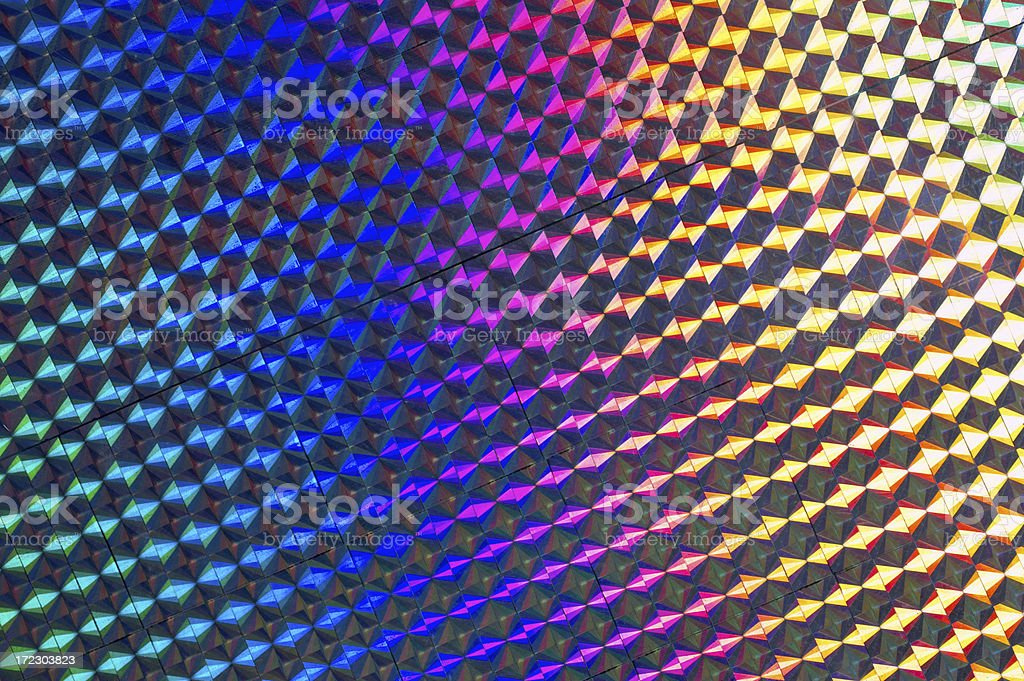 Reflective Pattern stock photo
