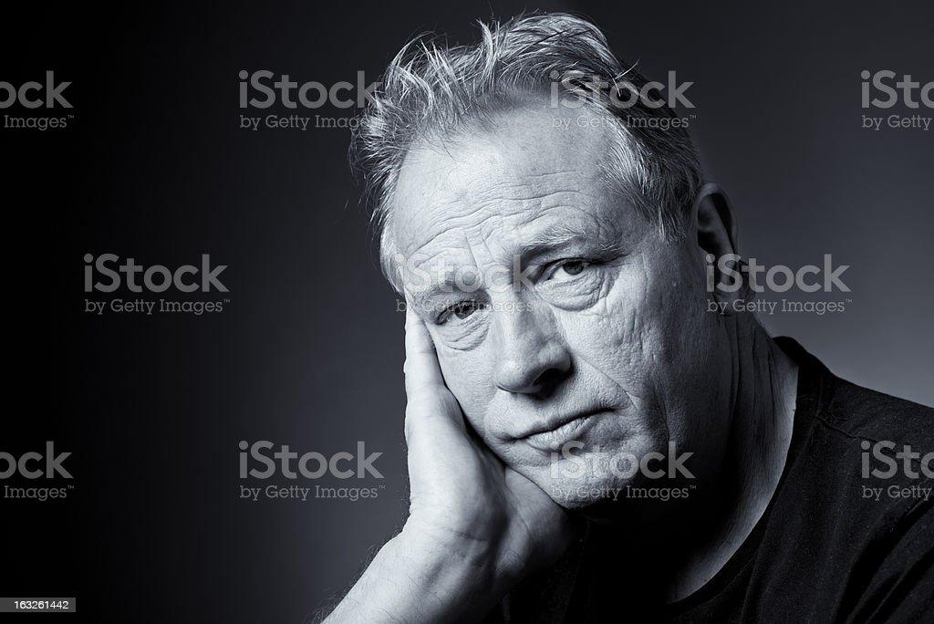Reflective Portrait stock photo