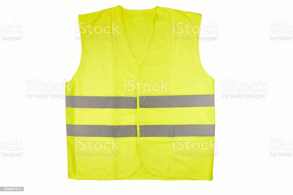 reflective vest stock photo