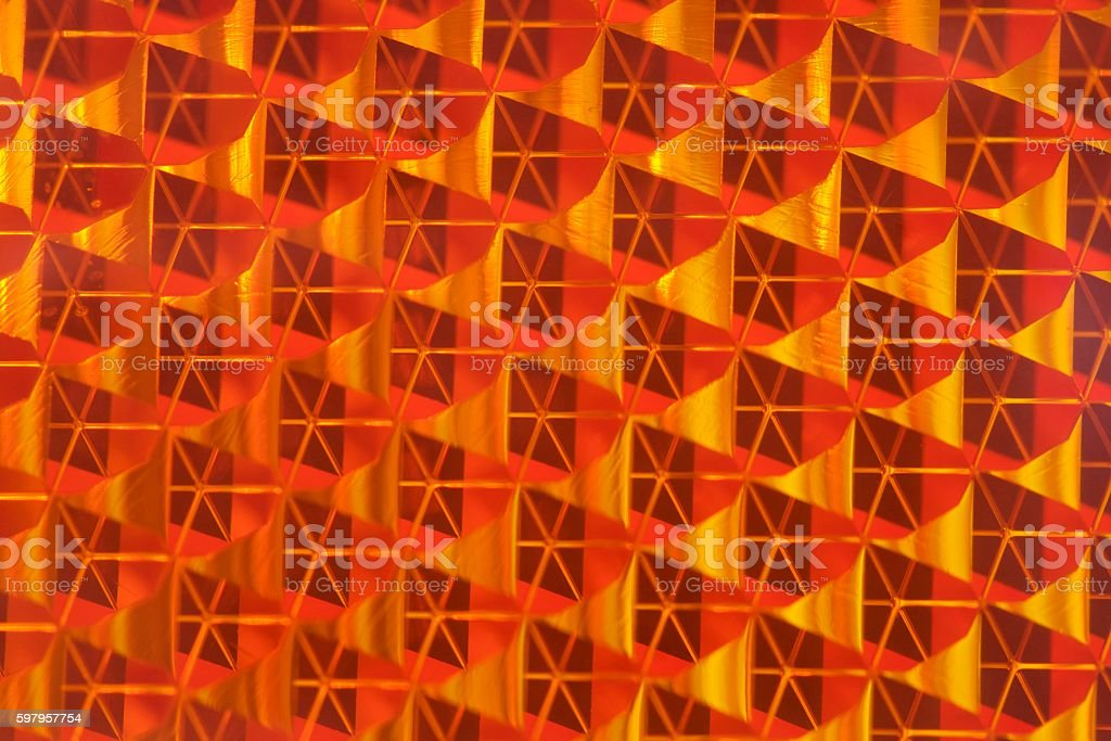 Reflector pattern stock photo