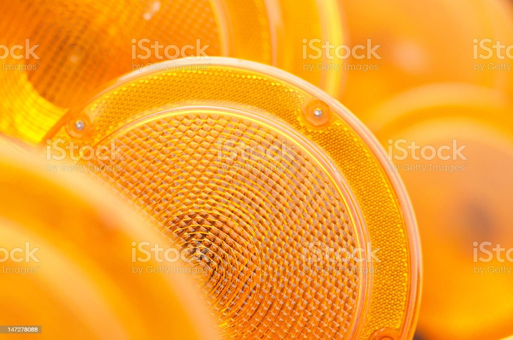 Reflectors stock photo