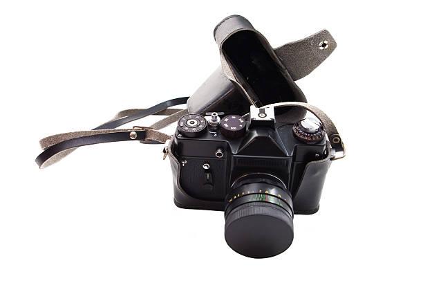 reflex camera stock photo