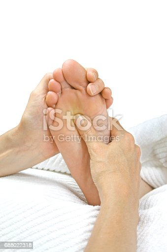 istock Reflexology Treatment 688022318