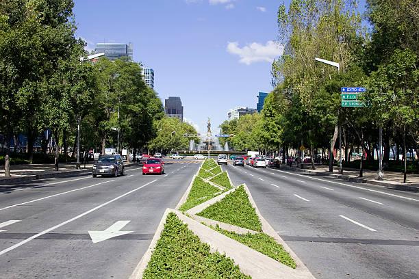 reforma avenue stock photo