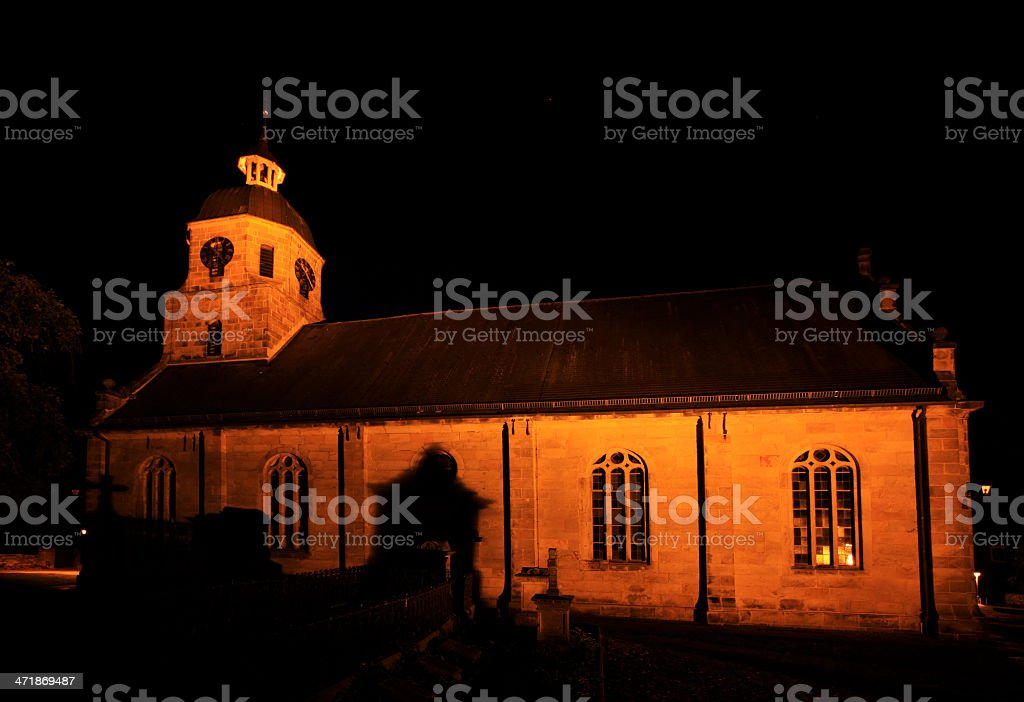 Reformed Protestant church from 1696, Bad Bentheim, Germany royalty-free stock photo