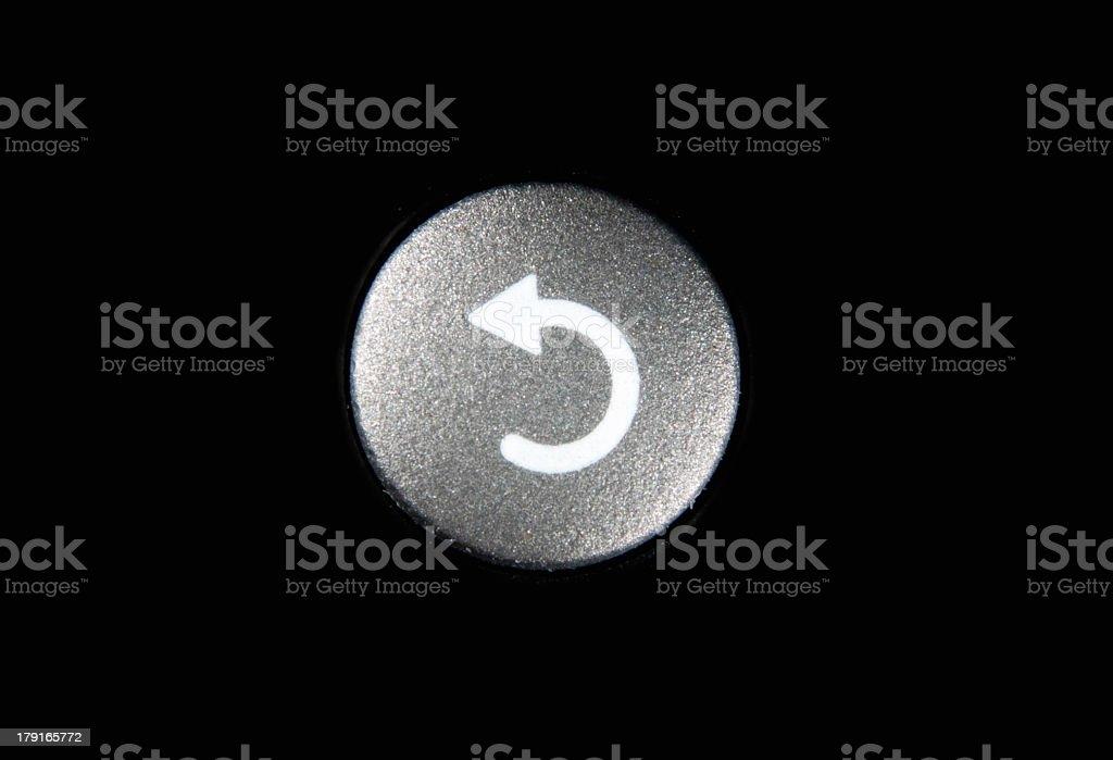 Refresh Button stock photo
