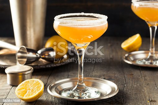 istock Refreshing Boozy Sidecar Cocktail 583847698