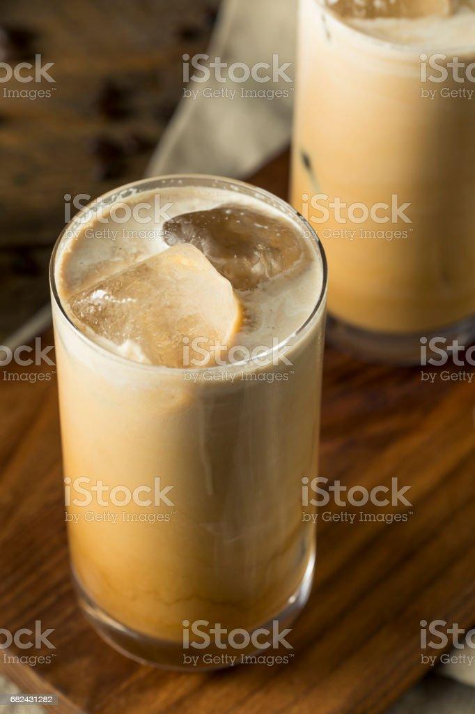 Refreshing Cold Thai Iced Coffee photo libre de droits