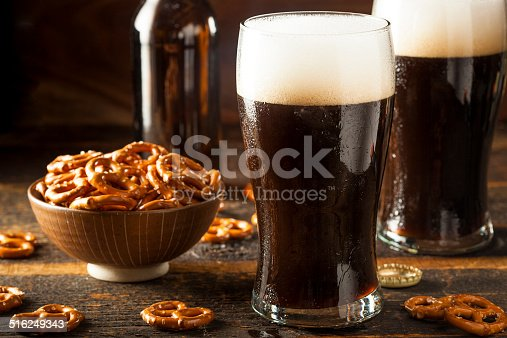 istock Refreshing Dark Stout Beer 516249343