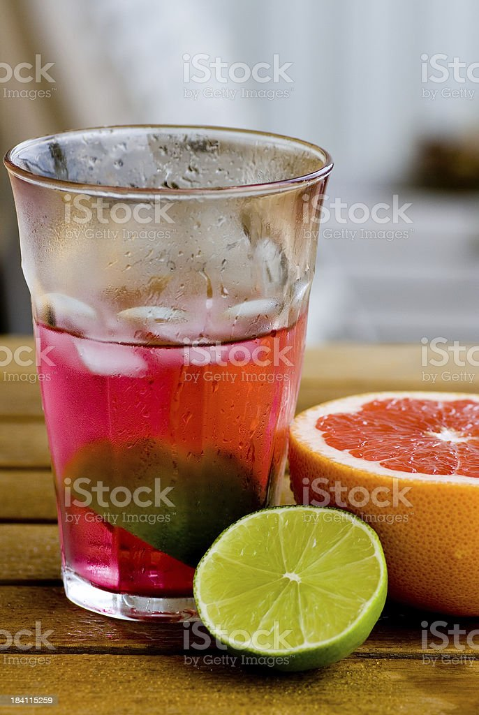 Refreshing drink royalty-free stock photo