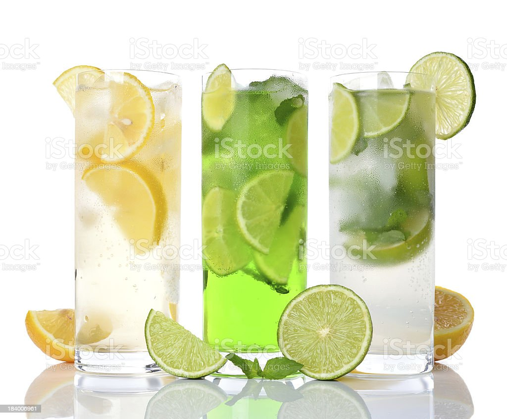 refreshing drinks royalty-free stock photo