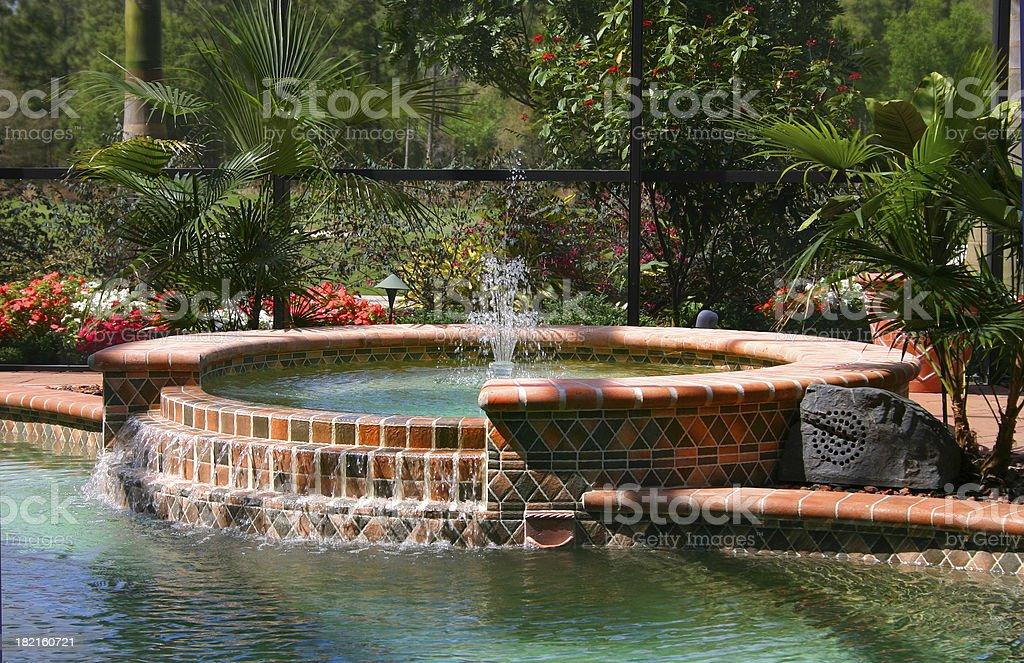 Refreshing Fountain royalty-free stock photo