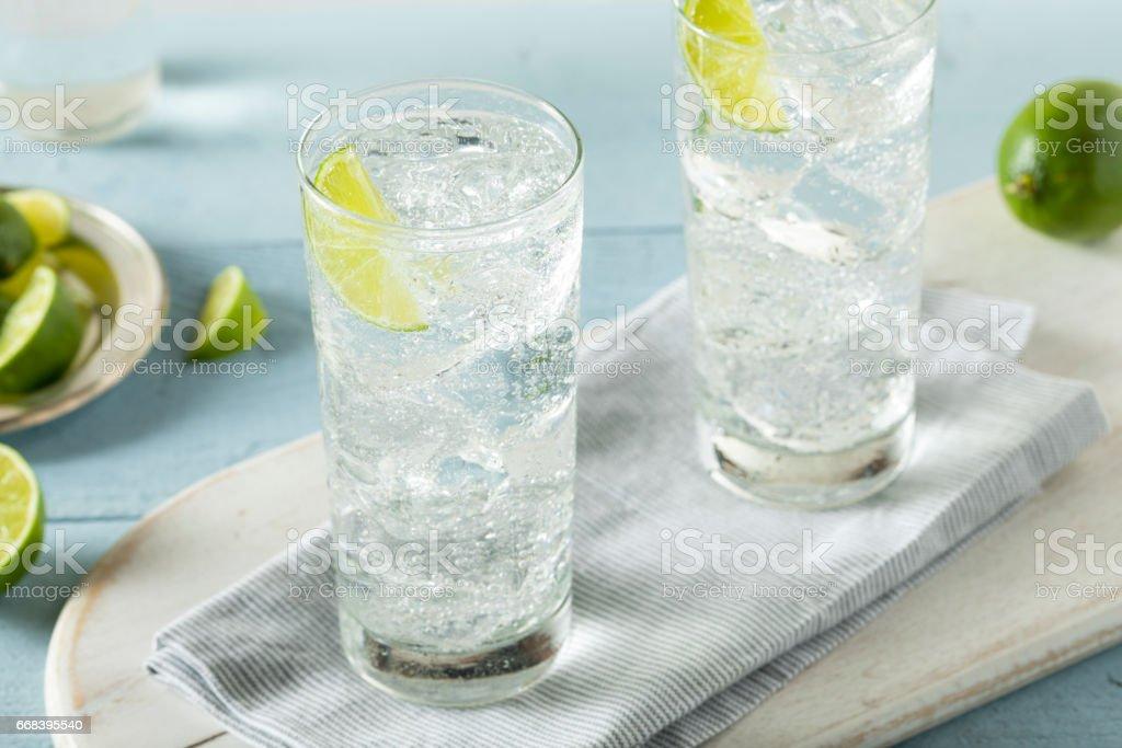 Refreshing Hard Sparkling Water royalty-free stock photo