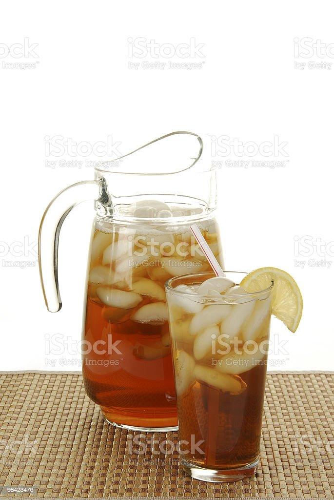 Refreshing Iced Tea royalty-free stock photo