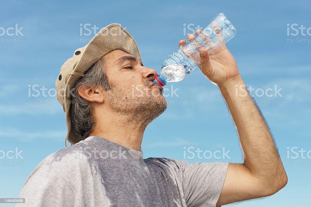 Refreshing royalty-free stock photo