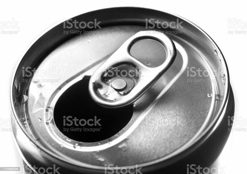 Refreshment can stock photo