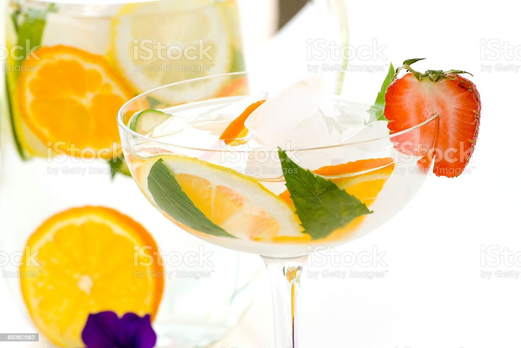 Refreshment drink royalty-free stock photo