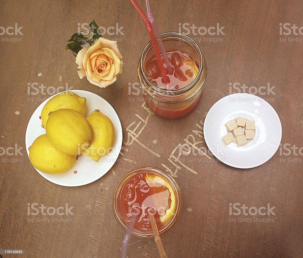 refreshment drinks royalty-free stock photo