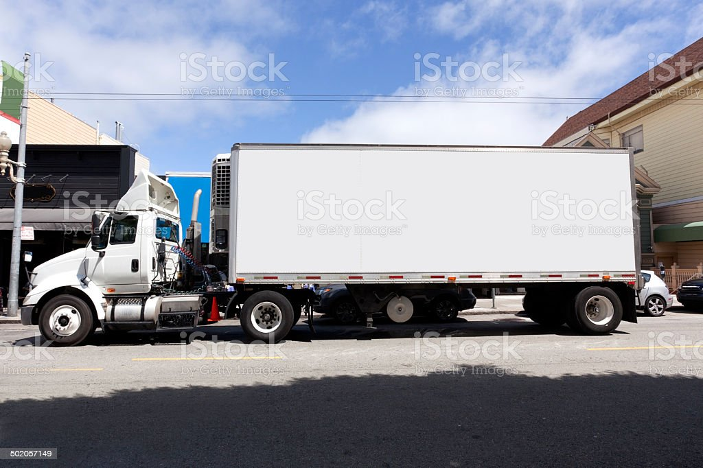 Refrigerated Delivery stock photo