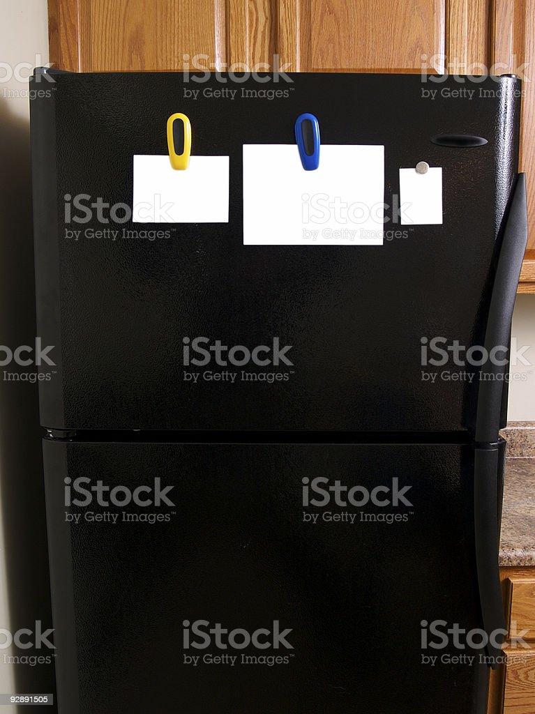 Refrigerator Display royalty-free stock photo
