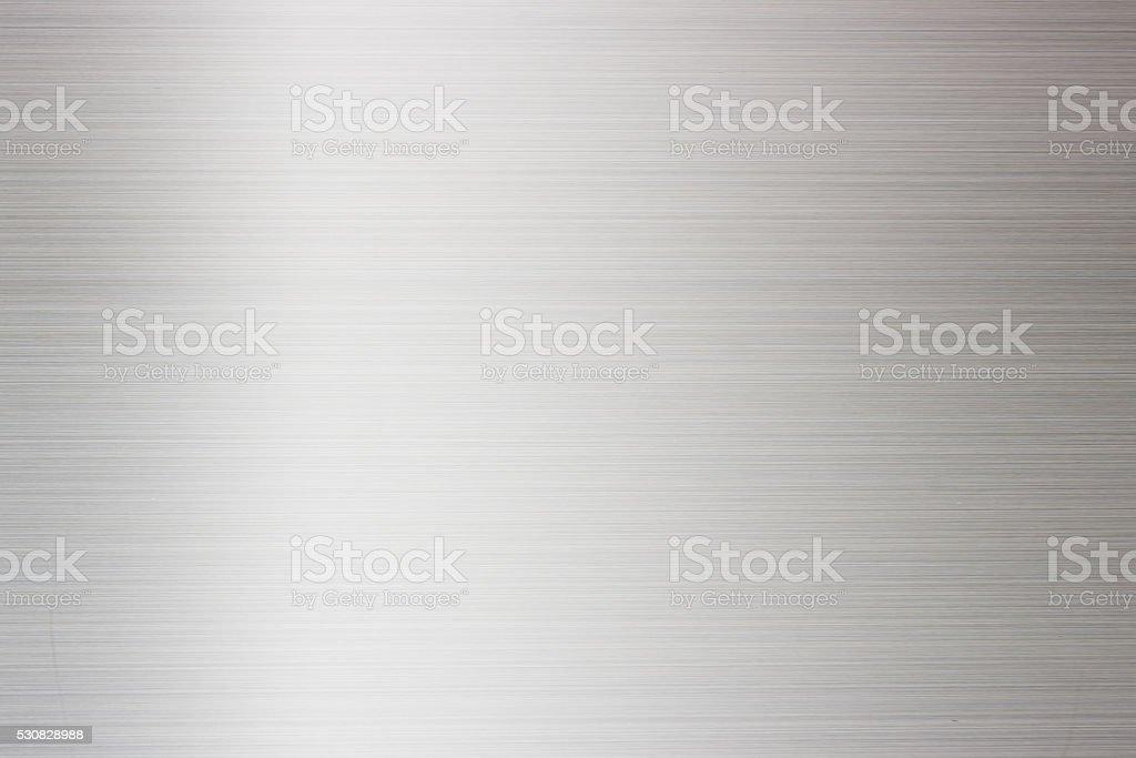 Refrigerator door, silver metallic background. stock photo