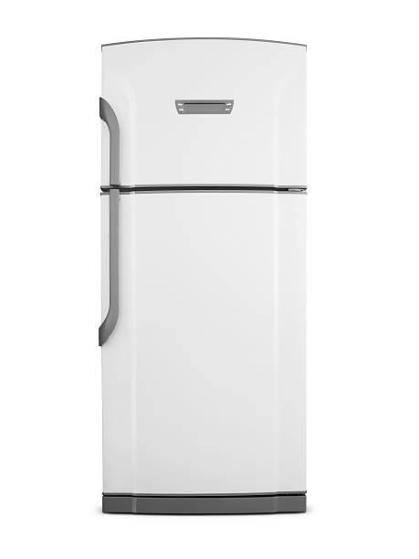 kühlschrank (klicken sie hier, um weitere informationen) - geschlossene küchen stock-fotos und bilder