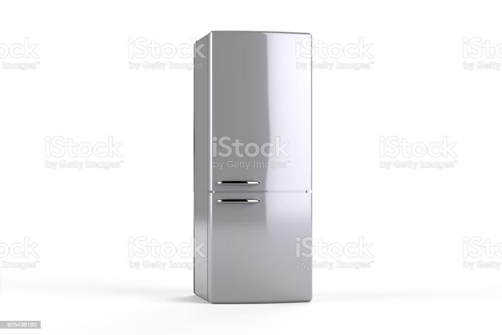 Refrigerator with path stock photo